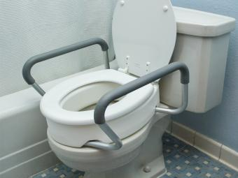 Toilet Seat Riser W Arms For Elongated Seats