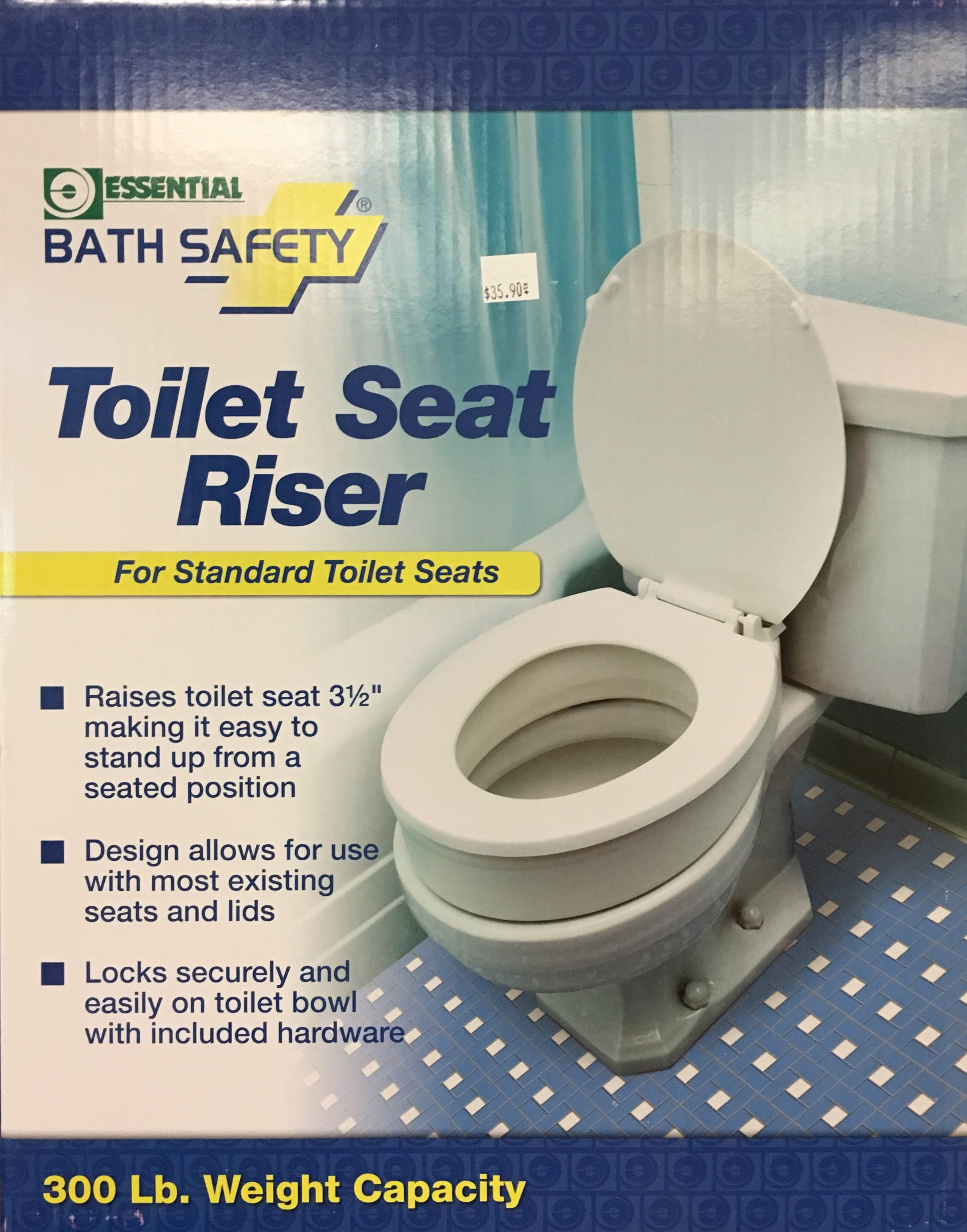 Magnificent Toilet Seat Riser Standard Seats Customarchery Wood Chair Design Ideas Customarcherynet